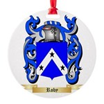 Roby Round Ornament