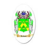 Robson 20x12 Oval Wall Decal