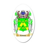 Robson 35x21 Oval Wall Decal