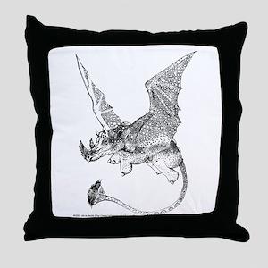 Mach 1 Rhino Throw Pillow