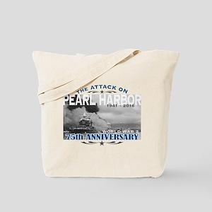 Pearl Harbor Attack Tote Bag