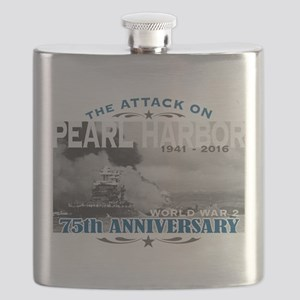 Pearl Harbor Attack Flask