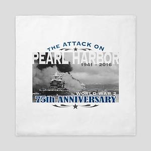 Pearl Harbor Attack Queen Duvet