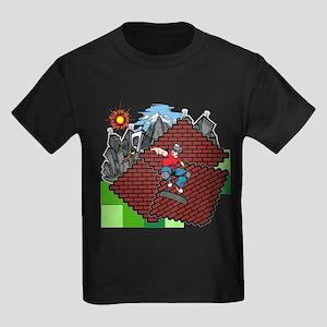blockcraft city skater T-Shirt