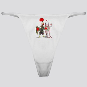 Barselos rooster and sardine Classic Thong