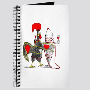 Barselos rooster and sardine Journal