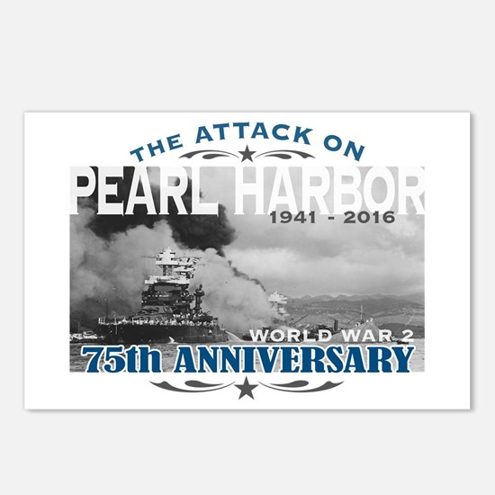 Pearl Harbor Attack Postcards (Package of 8)