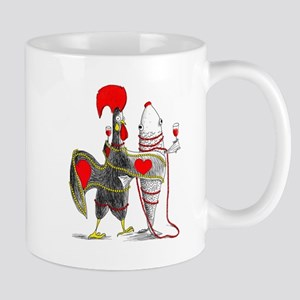 Barselos rooster and sardine Mugs
