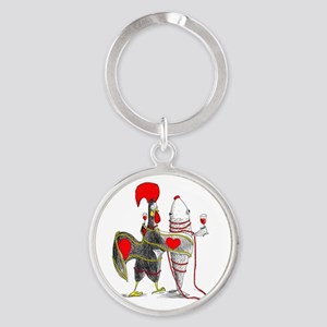 Barselos rooster and sardine Keychains