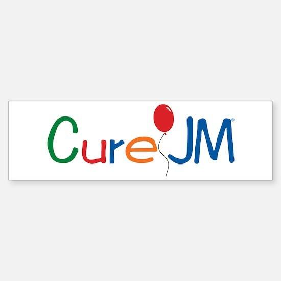 Cure Jm Logo Bumper Bumper Bumper Sticker