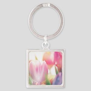 Beautiful Tulips Keychains