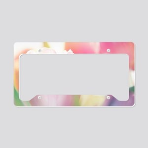 Beautiful Tulips License Plate Holder