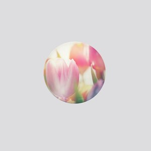 Beautiful Tulips Mini Button