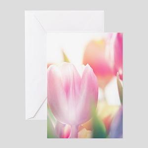 Beautiful Tulips Greeting Cards