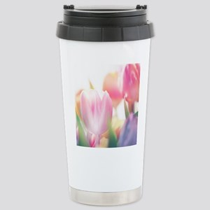 Beautiful Tulips Travel Mug