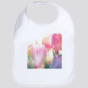 Beautiful Tulips Bib
