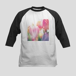 Beautiful Tulips Baseball Jersey