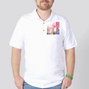 Beautiful Tulips Golf Shirt