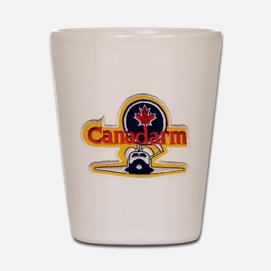 STS-2 Canadarm Shot Glass
