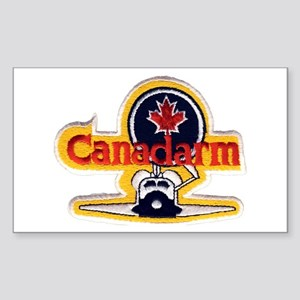 STS-2 Canadarm Sticker (Rectangle)