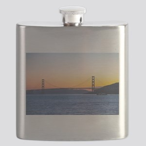 Golden Gate Sunset Flask