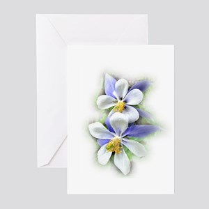 Colorado Columbine Greeting Cards