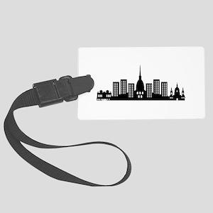 skyline torino Large Luggage Tag