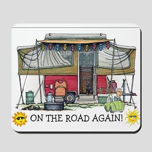 On The Road Again Mousepad