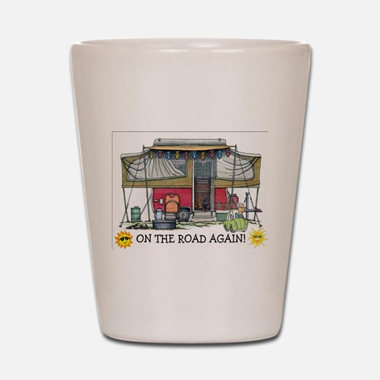 On The Road Again Shot Glass