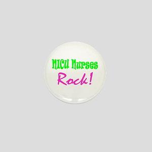 NICU Nurses Rock! Mini Button