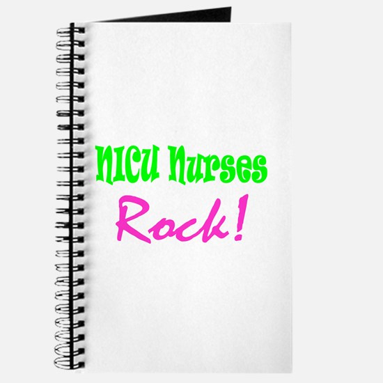 NICU Nurses Rock! Journal