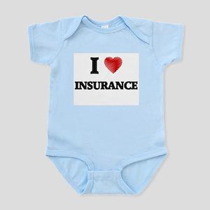 I Love Insurance Body Suit