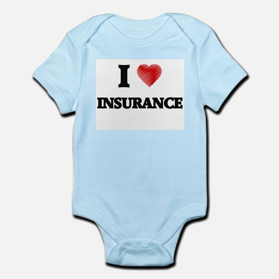 I Love Insurance Body Suit