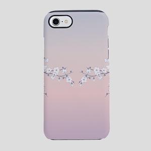 Cherry Blossoms Rose Gradien iPhone 8/7 Tough Case