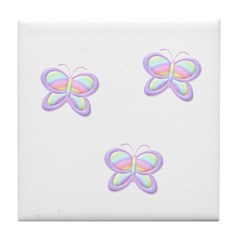 Butterfly Trio Tile Coaster