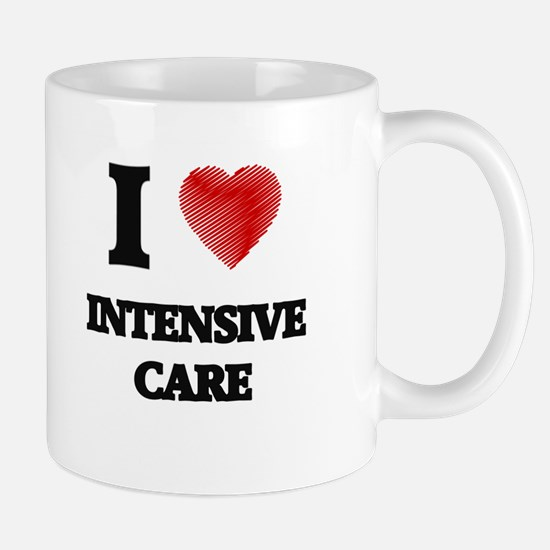 I Love Intensive Care Mugs