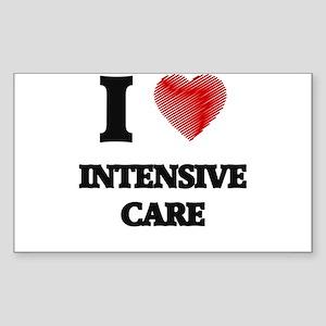 I Love Intensive Care Sticker