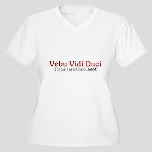 Accountant Women's Plus Size V-Neck T-Shirt