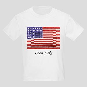 3 flags super imposed. Looks Kids Light T-Shirt