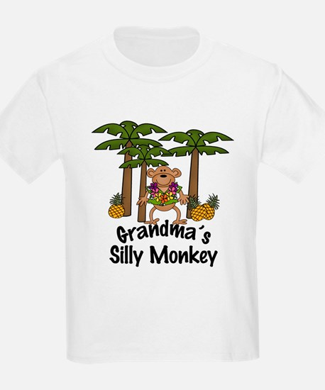 Grandma's Silly Monkey Boy T-Shirt