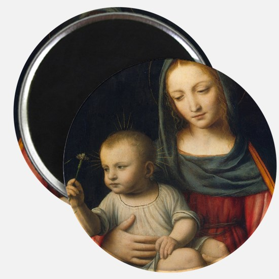 The Madonna of the Carnation, Luini Magnet