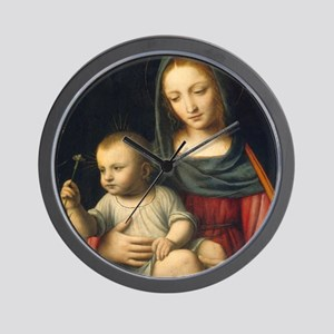 The Madonna of the Carnation, Luini Wall Clock