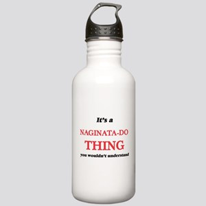 It's a Naginata-Do Stainless Water Bottle 1.0L