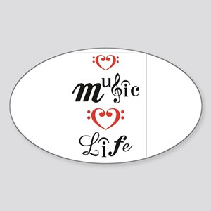 Love Music Love Life Sticker