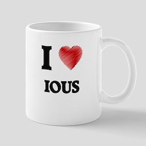 I Love Ious Mugs
