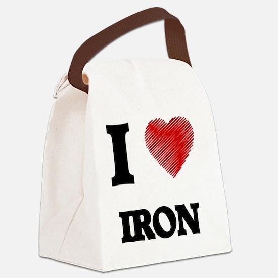Funny Ferrous Canvas Lunch Bag