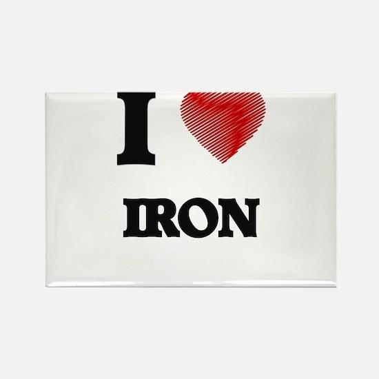 I Love Iron Magnets