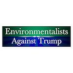 Environmentalists Against Donald Bumper Sticker