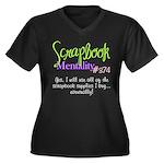 Scrapbook Mentality #374 Women's Plus Size V-Neck