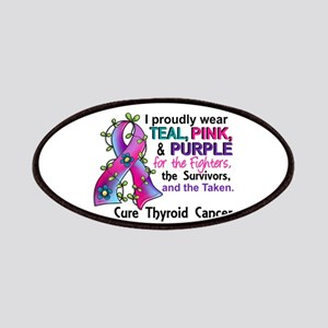 For Fighters Survivors Taken Thyroid Cancer Patch